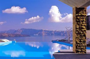 6 hotels in santorini with private in room swimming pool