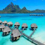 7 hotels on the sea in bora bora