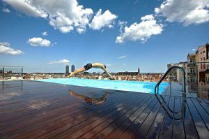 9 hotels in barcelona with rooftop pool