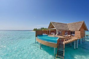 9 hotels on the water in the maldives