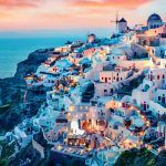 Honeymoon hotels in santorini